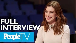 Anne Hathaway Opens Up About 'Serenity,' Hosting The Academy Awards & More (FULL) | PeopleTV