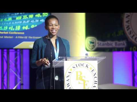 Botswana Bond Market Conference 2016