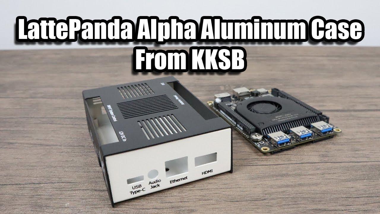 KKSB LattePanda V1.0 Case Aluminum