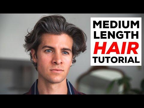 medium-length-hair-tutorial- -men's-hairstyle- -parker-york-smith