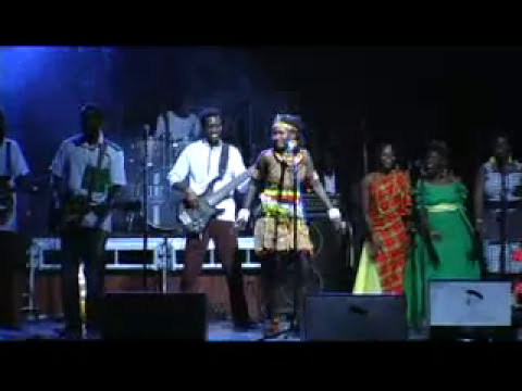 "World Music From Uganda ""Angela"" Live At Milege's Essence Of Colour Tour 2012"