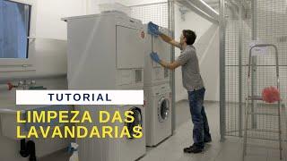POR No3 Limpeza das lavandarias