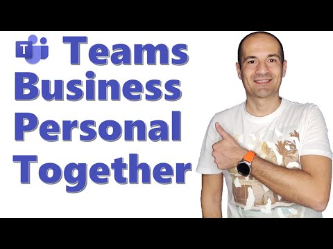 ✌ How to use the business and personal accounts in Teams together