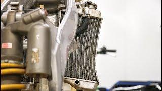 Can This Dirt Bike Radiator Be Straightened?