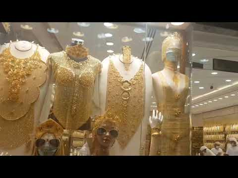 Gold Shopping In Dubai 🇦🇪  Most Affordable Gold market , Dubai Old Souk* 🤗😁😎👍