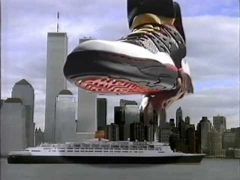 Adidas Dikembe Mutombo Commercial 1993