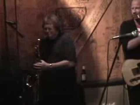 Bobby Keys and Rolling Stones Stage Crew at Crazy Elephant