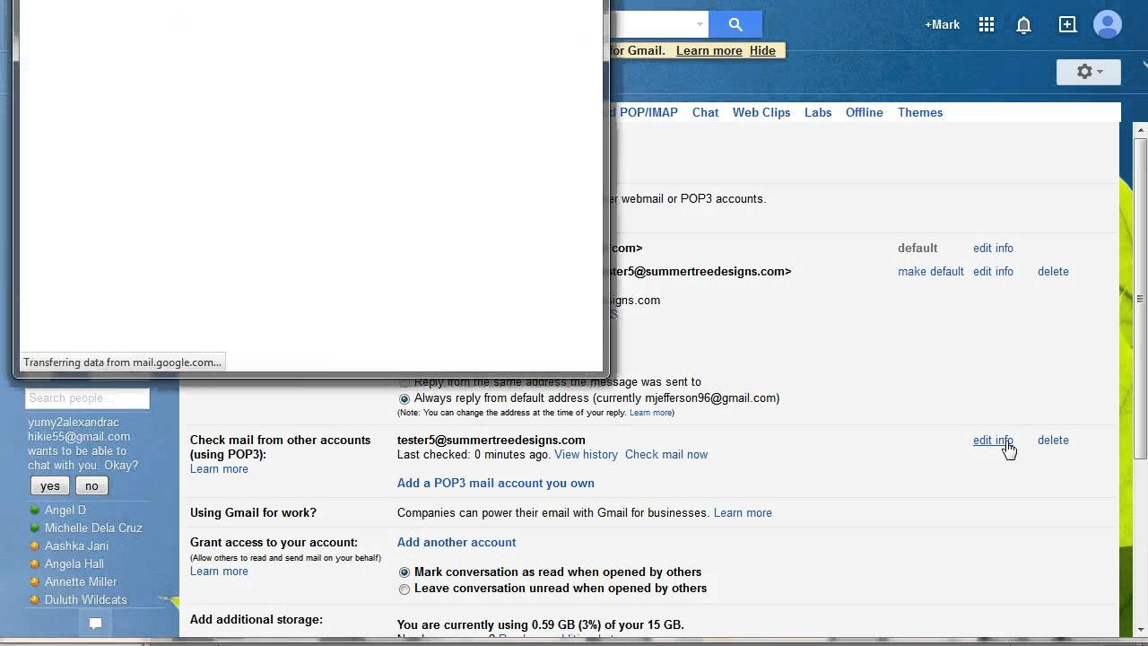 Gmail theme delete - How To Delete Pop3 Mail From Gmail