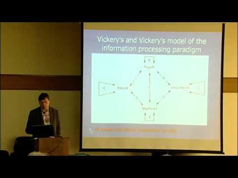 "Professor Soren Brier presents Cyber[bio]semiotics, through Bateson, Luhmann, and Peirce"""