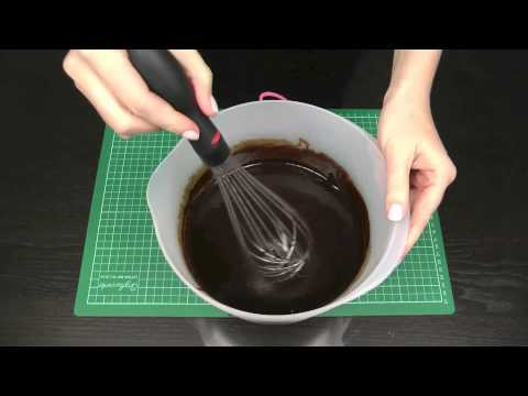 Make Chocolate Ganache Frosting EASY Recipe and Instructions - A Cupcake Addiction How To Tutorial