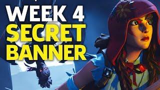 Fortnite Season 6 - Week 4 Secret Banner location