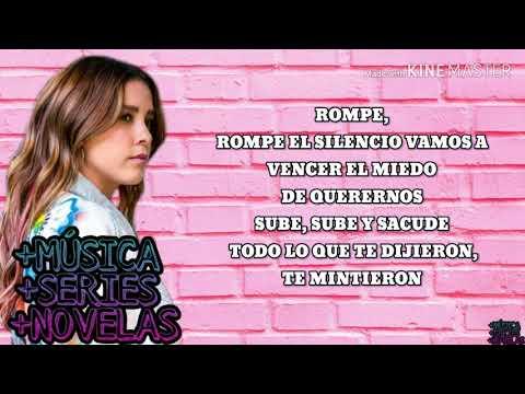 Rompe (Vencer el Miedo) - Paulina Goto - ''LETRA''