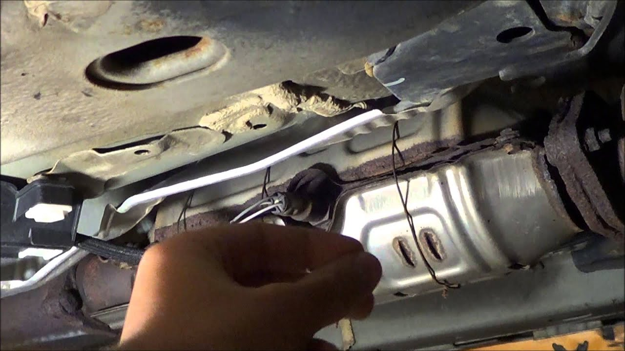 diy how to fix replace acura tsx catalytic converter 2002 saturn engine diagram wiring schematic