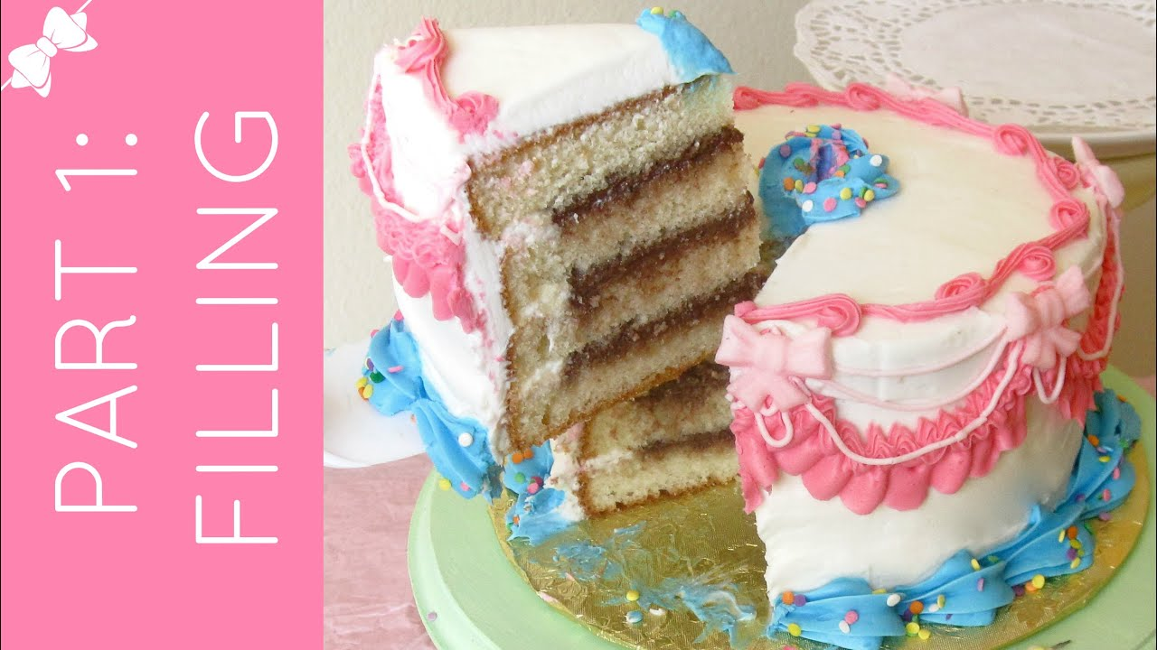 Cake Decorating 101 (Part 1): How to Level, Tort, Fill & Stack a ...
