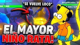 THE MOST RATA SCAMER CHILD! SCAMEO A SCAMER - Fortnite Save the World