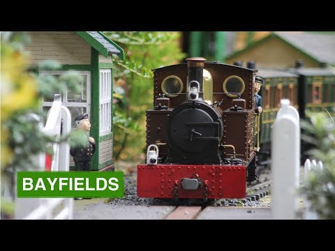 Bayfields Light Railway- 16mm Scale Garden Railway- September Trains 2017