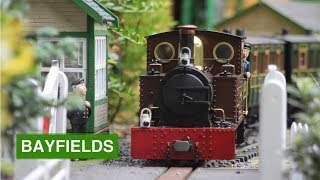 Bayfields Light Railway- 16mm Scale Garden Railway- September Trains 2017