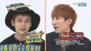 BTOB Eunkwang and Ilhoon Weekly idol ENG SUB ep 170 P1 winner DBSK EXO xiumin apink bomi 일훈 보미 비투비