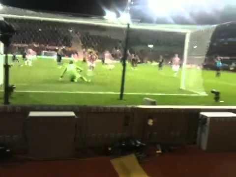 Stoke City Vs Newcastle: Jon Walters Penalty