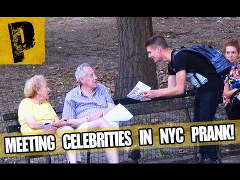 """Meeting """"Celebrities"""" In NYC Prank"""