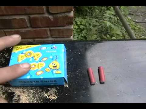 Requested video: Live DEMO of Pop Pop Adult snappers VS firecrackers VS Kid snaps