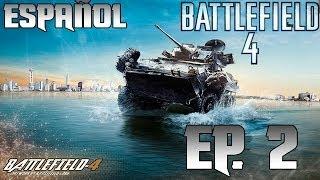 Battlefield 4 Gameplay Walkthrough Español Parte 2 - Campaign Mission 2 - Baku (BF4)