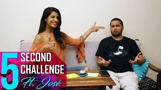 5 Second Challenge  ft. Jose Covaco | Gaelyn Mendonca