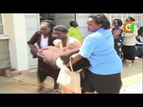 Tears as Families Identify Bodies at KU