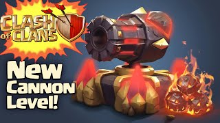Clash of Clans New Update! LVL 13 cannon in Clash of Clans Sneak Peek #1