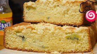 Пирог на фанте с киви