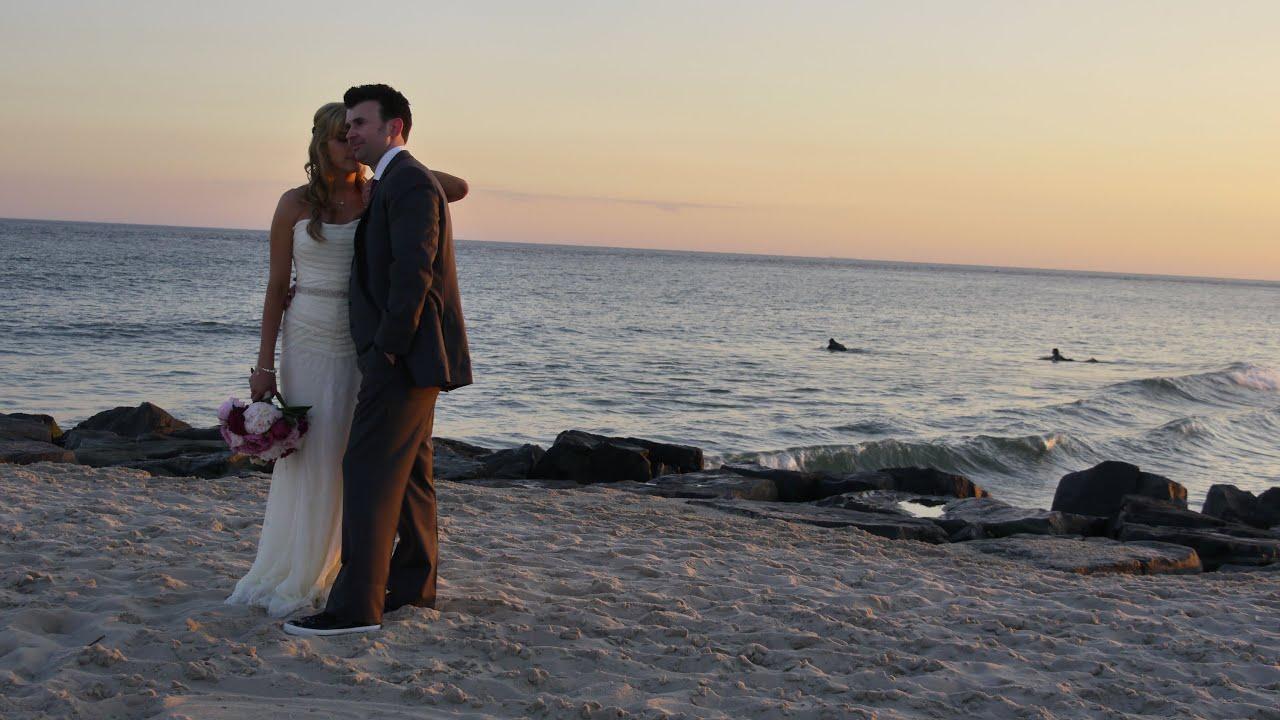 Cape May Nj Beach Weddings Highlights Lavinciweddings Com Youtube