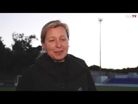 Portugal 0 0 Wales  - Jayne Ludlow and Natasha Harding reaction