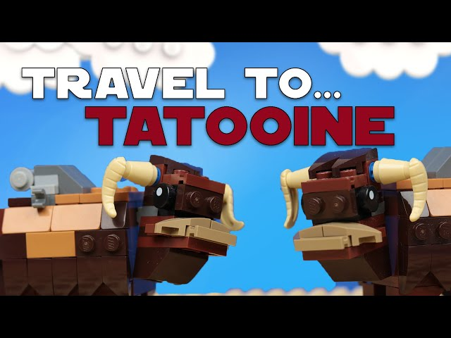 Travel to Tatooine and have fun with all kinds of gangster  I Lego Star Wars Brickfilm I #Satire