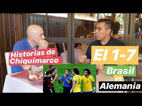El 1-7 de Alemania a Brasil contado por el rbitro. Hablamos con Chiquimarco. #MundoMaldini