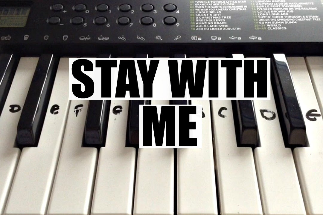 Stay With Me - Sam Smith | Easy Keyboard Tutorial With Notes (Right Hand)