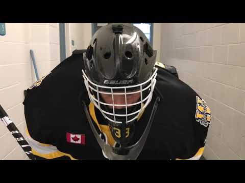 Waterloo Wolves vs Cambridge Hawks in Minor Midget hockey