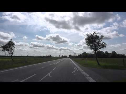 [4K] Sønder Onsild - Møldrup - Skive  4K Video