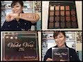 Violet Voss Pro eyeshadows Matte About You ! Swatch and Tell! Review!
