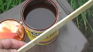 Морилка, как её наносить и как глубоко она проникает? How to - Wood Stain(, 2016-04-29T23:57:03.000Z)