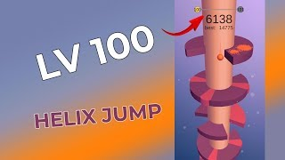 [Game] Helix Jump (VOODOO) Level 100 Gameplay