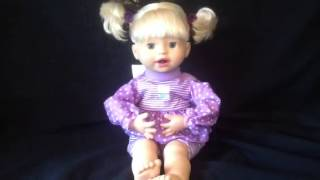 Fisher price interactive little mommy doll