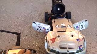 Sexy Fast_ Electric Ducted Fan RC Jet Car Video with Spektrum DX6i Transmitter
