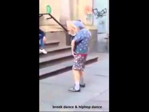 La vecchietta che balla, provate a non ridere!
