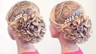 Свадебная причёска для натуральной блондинки | Лена Роговая | Hairstyles by REM | Copyright ©(, 2014-08-23T19:10:05.000Z)