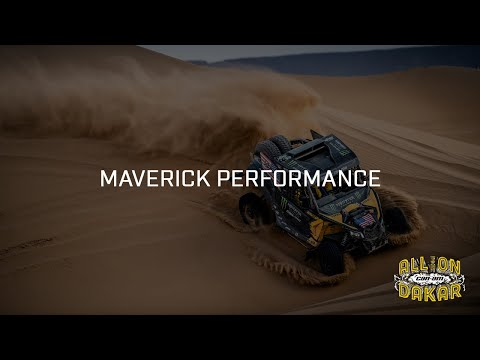 Built To Finish At The Top: Can-Am Maverick X3 In The Dakar Rally
