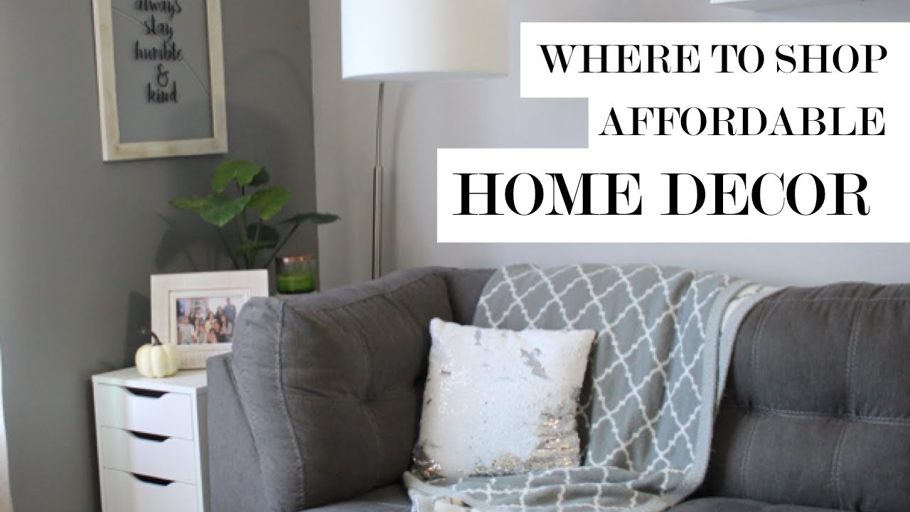 Where To Shop For Affordable Home Decor | IKEA, HomeGoods And More!