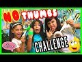 No Thumbs Challenge : SO CHATTY // GEM Sisters の動画、YouTube動画。