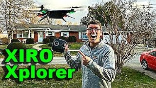 Xiro Xplorer Drone RTF Quick First Flight Impressions - TheRcSaylors(The Xiro Xplorer Drone RTF Gimbal Ready UAV Quadcopter has been waiting long enough! It's time to get it in the air and test some of the advertised features of ..., 2016-01-26T22:31:42.000Z)