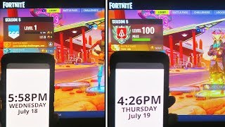 LEVEL 1 to LEVEL 100 in 24 Hours! - SEASON 5 NEW SECRET to MAX LEVEL 100 in Fortnite Battle Royale!