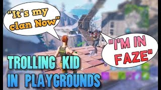 Kid Says he